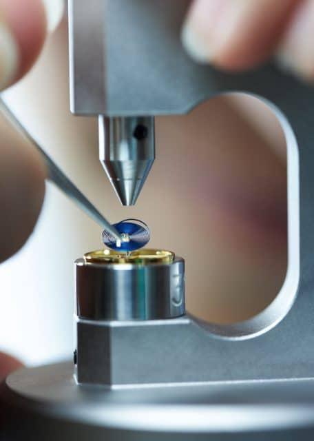 Rolex Biel: Paarung der Spiralfeder mit der Unruh
