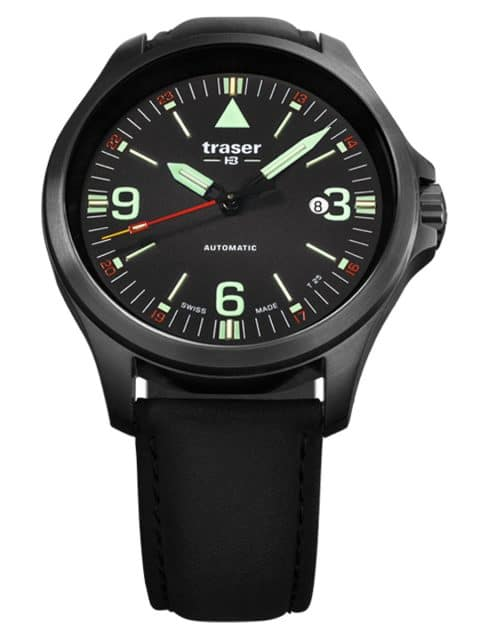 Traser H3: P67 Officer Pro Automatic in Edelstahl