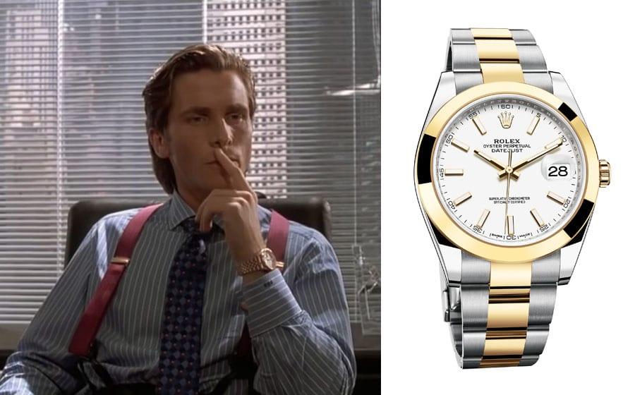 "Uhren in Filmen: Rolex Datejust in ""American Psycho"""
