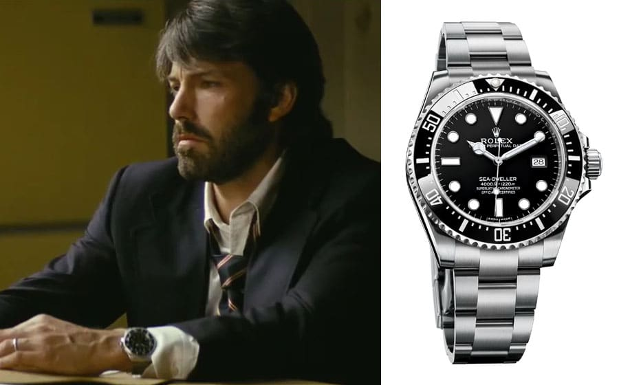 "Uhren in Filmen: Rolex Deepsea Sea-Dweller in ""Argo"""