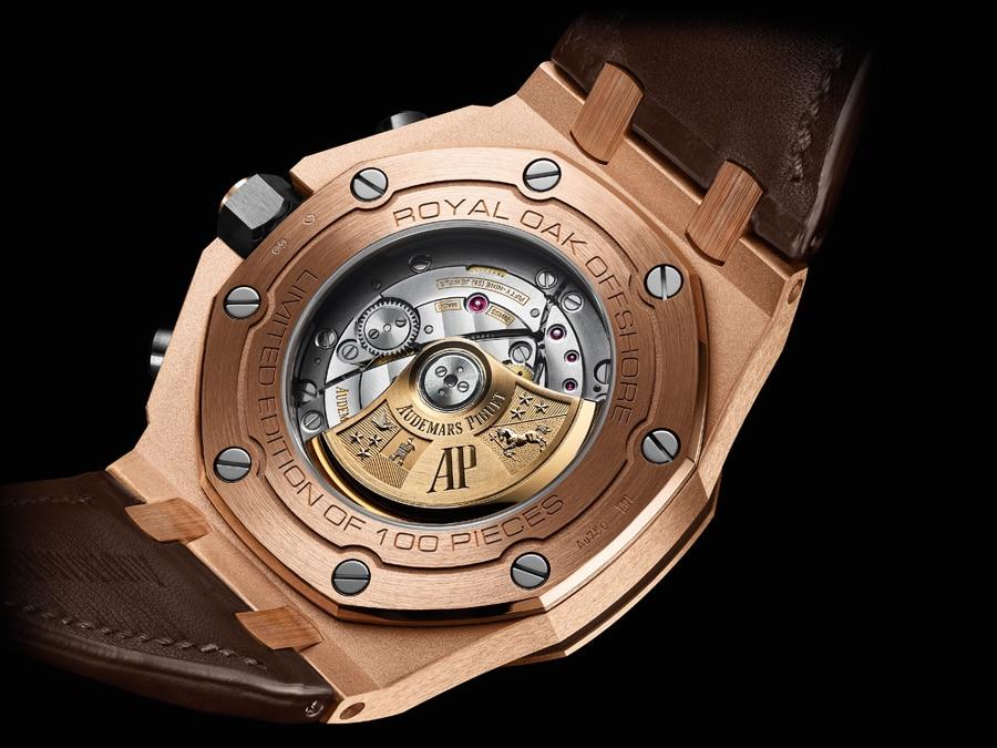 Audemars Piguet Royal Oak Offshore Chronograph Automatik Boutique Edition Gehäuserückseite