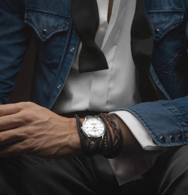 Baume & Mercier: Clifton Baumatic am Handgelenk