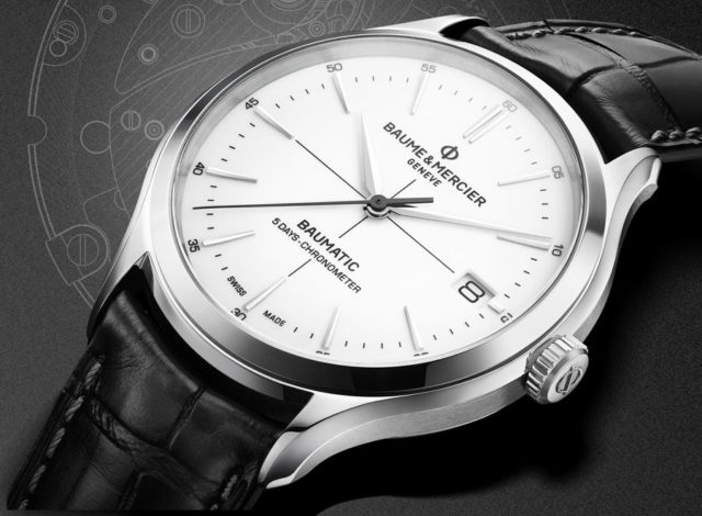Baume & Mercier: Clifton Baumatic als Chronometer-Version