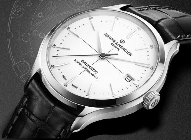 Baume & Mercier: Clifton Baumatic als Chronometer-Version