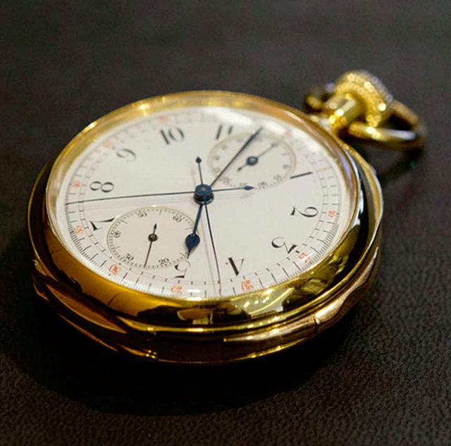 Breguet: Taschenuhr Nr. 765 von Winston Churchill
