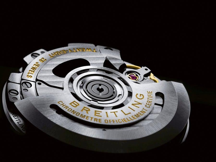 Im Innern der Breitling Superocean Héritage II tickt das Tudor-basierte Breitling-Kaliber B20