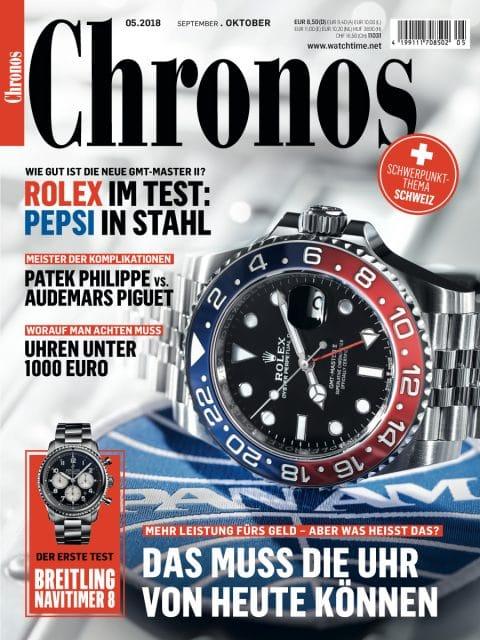 Chronos 05.2018: jetzt im Handel
