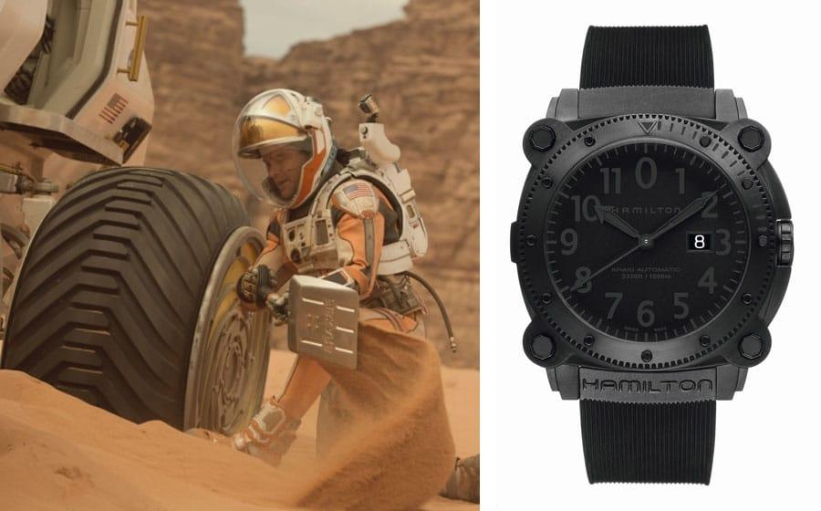 """Uhren in Filmen: Hamilton BeLowzero in """"Der Marsianer"""""""
