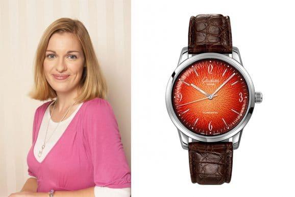 Tipp für eine bunte Uhr von Katharina Studer, Redakteurin Watchtime.net: Glashütte Original Sixties in Orange