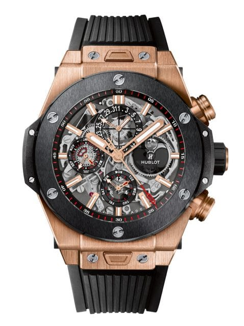 Hublot: Big Bang Unico Chronograph Perpetual Calendar King Gold Ceramic