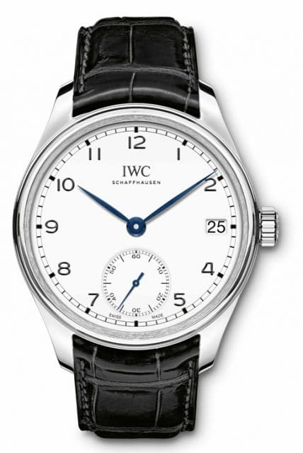 "IWC: Portugieser Hand-Wound Eight Days Edition ""150 Years"""