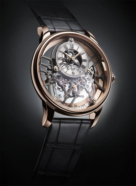 Jaquet Droz: Grande Seconde Skelet-One in Rotgold