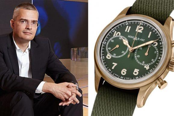 Tipp für eine bunte Uhr von Chronos-Chefredakteur Rüdiger Bucher: Montblanc 1858 Automatic Chronograph Limited Edition