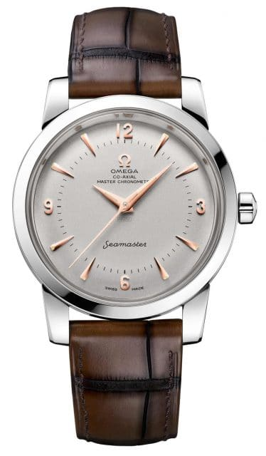 Die brandneue Omega Seamaster 1948 Central Second in Platin
