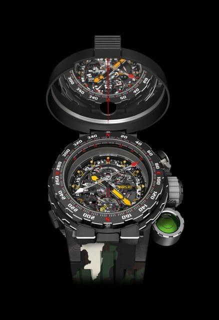 Richard Mille: RM 25-01 Adventurer mit Kompass