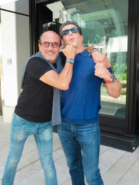 Richard Mille und Sylvester Stallone