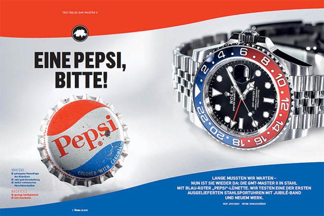 Erster Test der Rolex GMT-Master II Pepsi