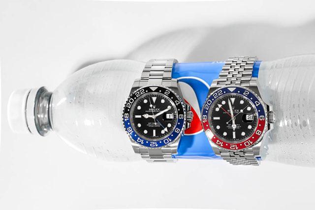 Rolex GMT-Master II mit Batman- und Pepsi-Lünette, Foto: Marcus Krüger