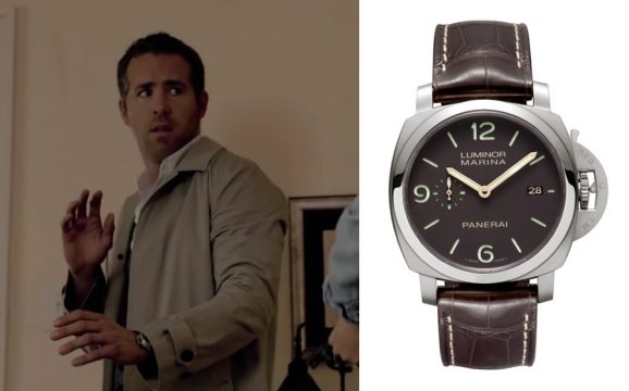 "Uhren in Filmen: Panerai Luminor Marina PAM 351 in ""Selfless"""