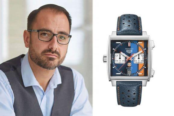 Chronos-Redakteur Alexander Krupp wählt die TAG Heuer Monaco Calibre 11 Special Edition Gulf