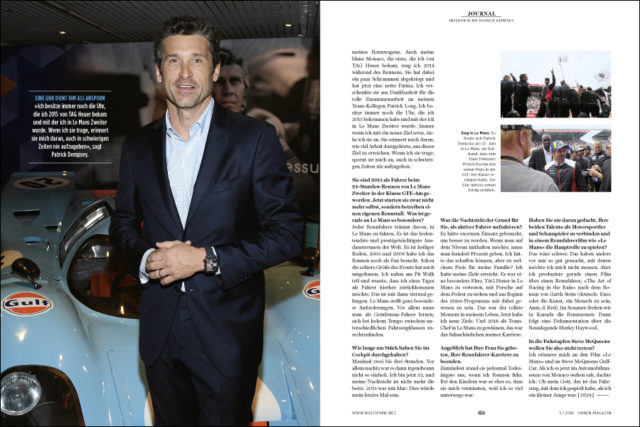 UHREN-MAGAZIN 5/2018: TAG Heuer Journal