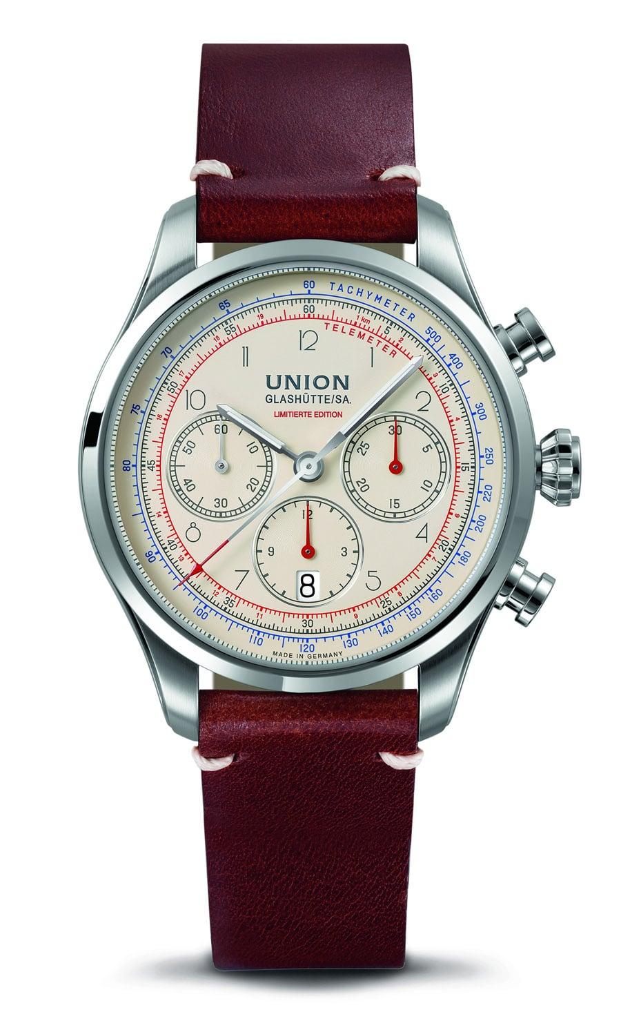 Union Glashütte Belisar Chronograph Limitierte Edition Sachsen Classic 2018