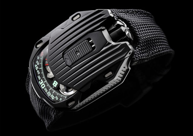 "Urwerk: UR-105 CT ""Kryptonite"""