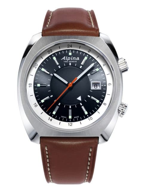 Alpina Genève: Startimer Pilot Heritage Automatic GMT