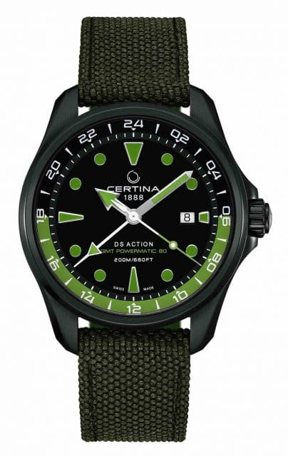 Certina: DS Action GMT Powermatic 80