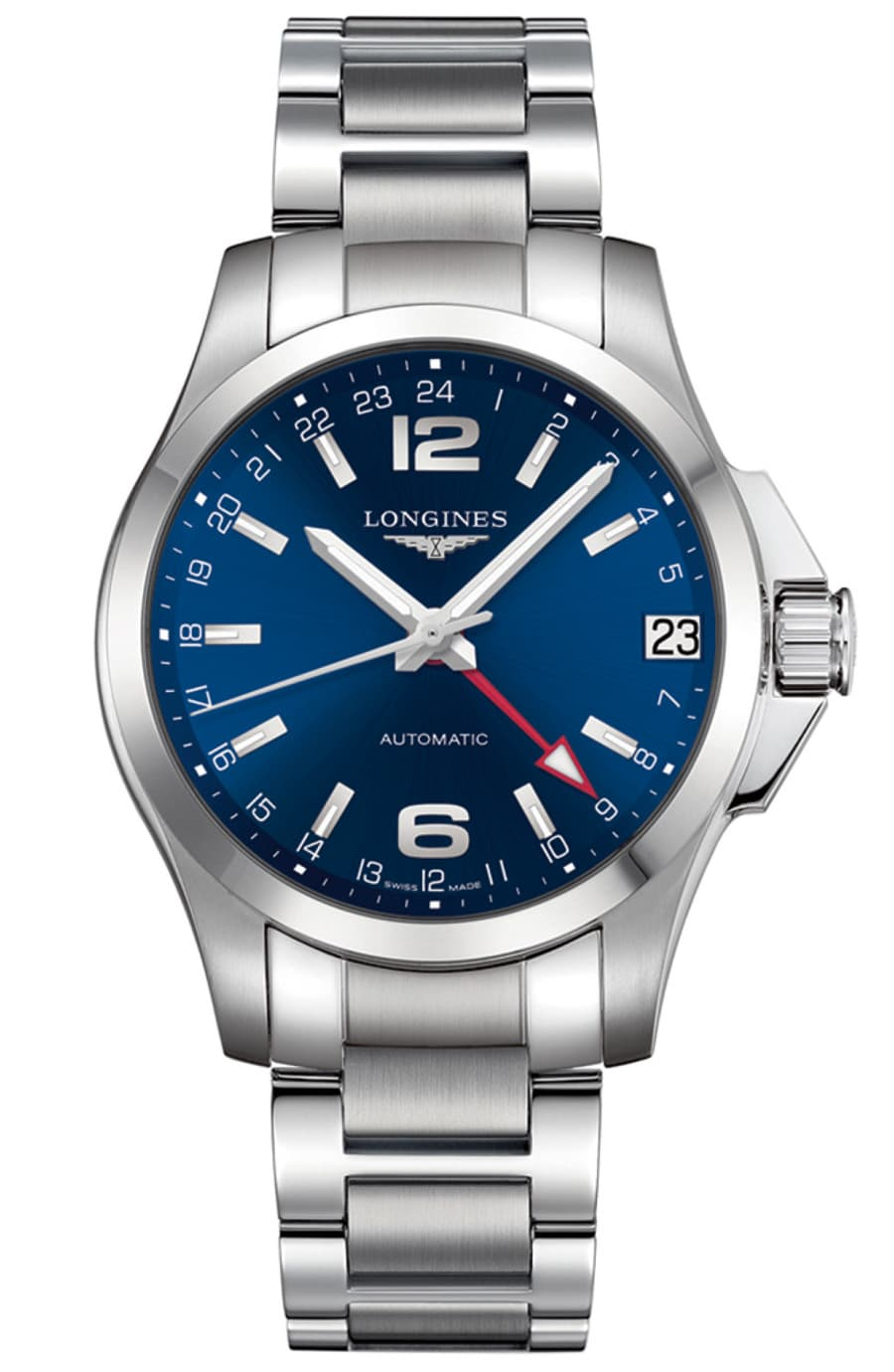 Longines: Conquest mit GMT-Funktion