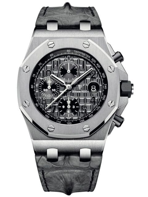 Audemars Piguet: Royal Oak Offshore Chronograph 42 mm graues Zifferblatt