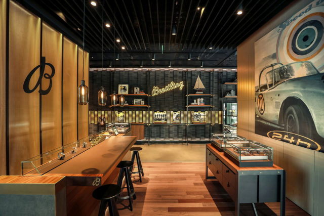 2018 eröffnet: Breitling Flagship Store in Shanghai