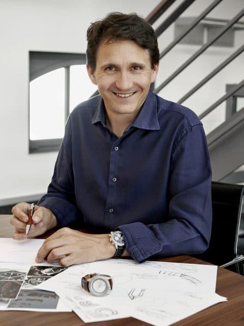 Guy Bove gestaltete das neue Gesicht von Breitling