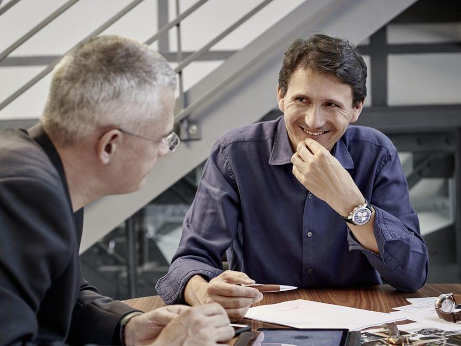 Guy Bove im Gespräch mit Rüdiger Bucher