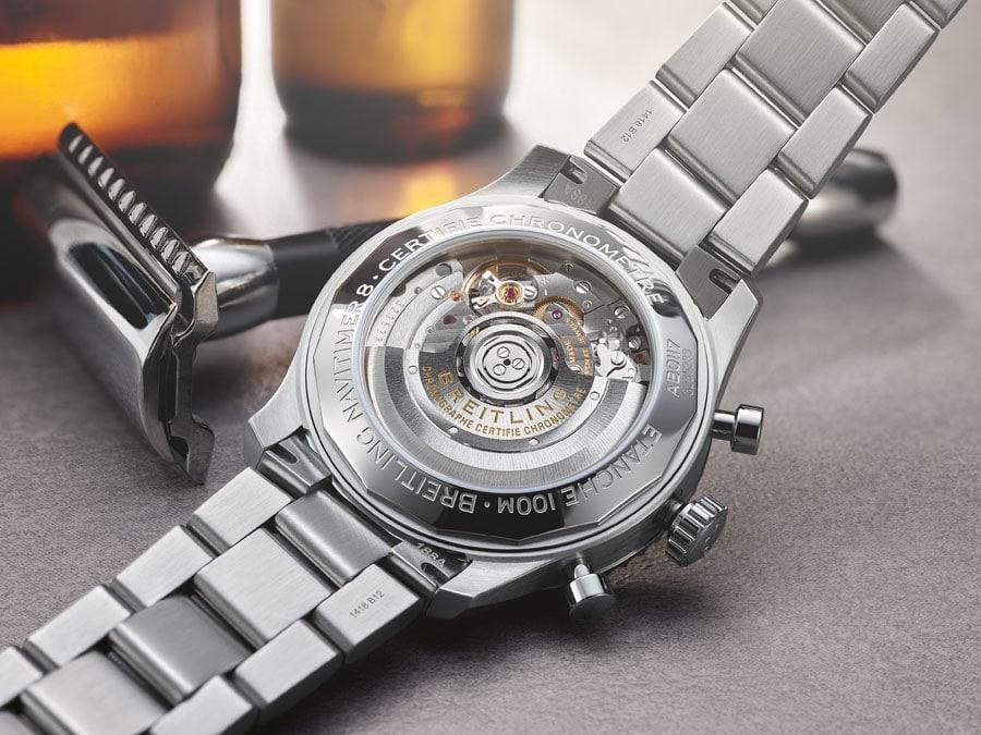 Das Werk der Breitling Navitimer 8 B01 Chronograph 43