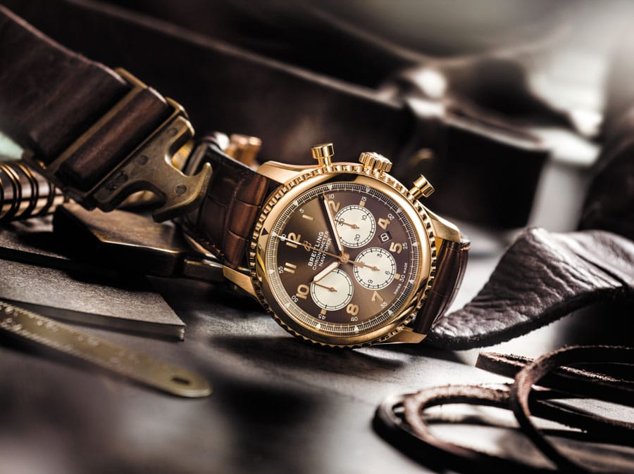 Breitling: Navitimer 8 B01 in Rotgold