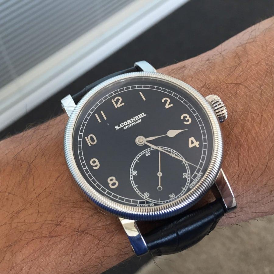 Cornehl Uhren: Classic Black