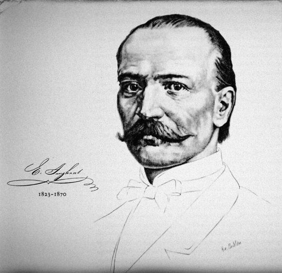 Firmengründer Erhard Junghans (1823-1870)
