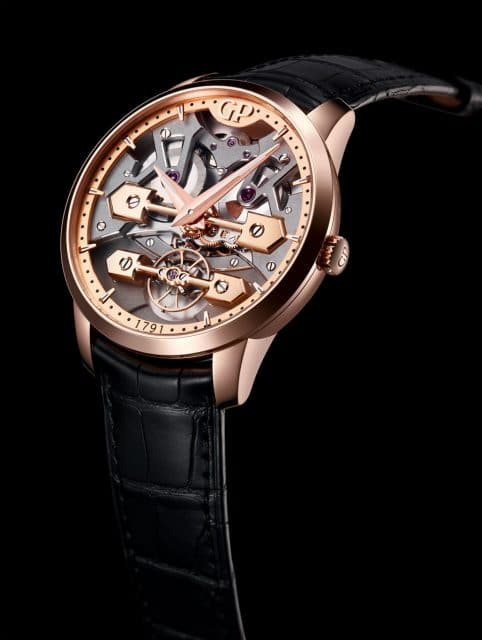 Girard-Perregaux: Classic Bridges 45 mm in Rotgold