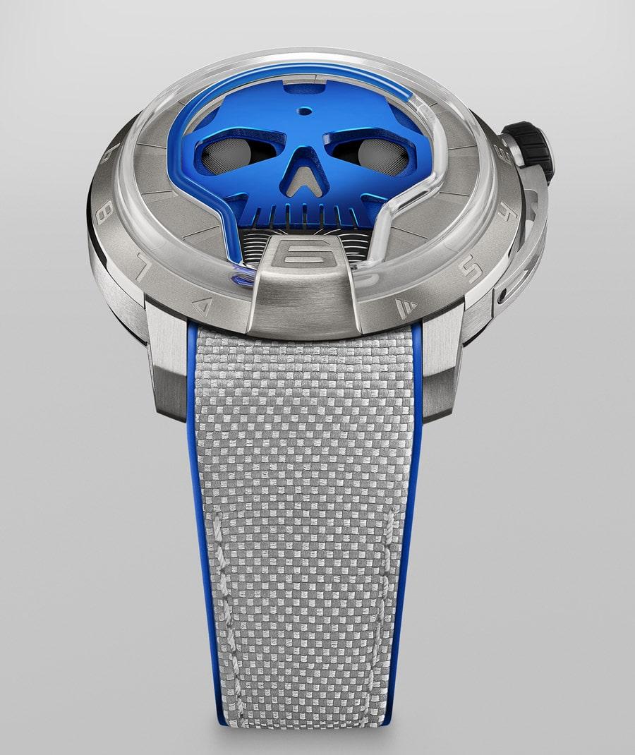 HYT Skull 48.8 in Blau
