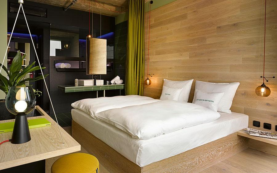 Werner Aisslinger steht hinter dem Interior Design des Hotels 25hours Bikini Berlin