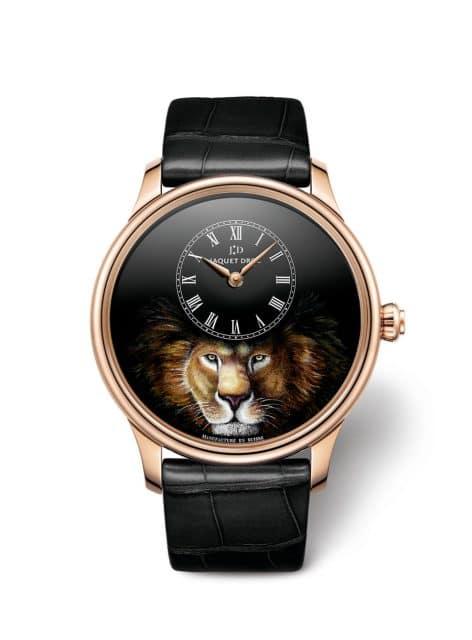 Jaquet Droz: Petite Heure Minute Lion