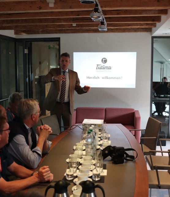 Leserreise Glashütte 2018: Tutima Präsentation von Alexander Philipp
