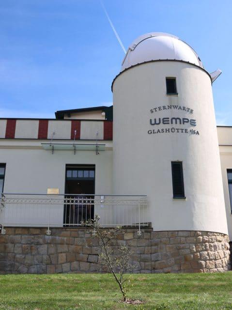 Leserreise Glashütte 2018: Wempe Sternwarte