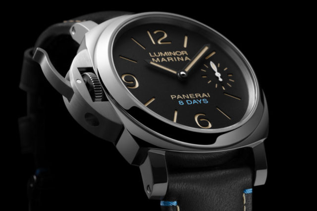 Panerai: Luminor Left-Handed 8 Days Acciaio - PAM00796