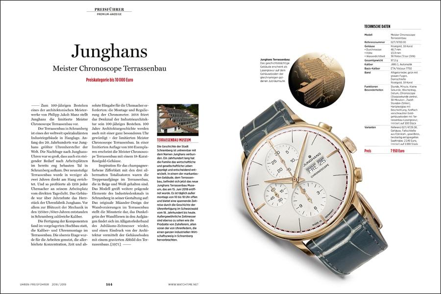 Premiumseite Junghans: Die Meister Chronoscope würdigt den restaurierten Terrassenbau