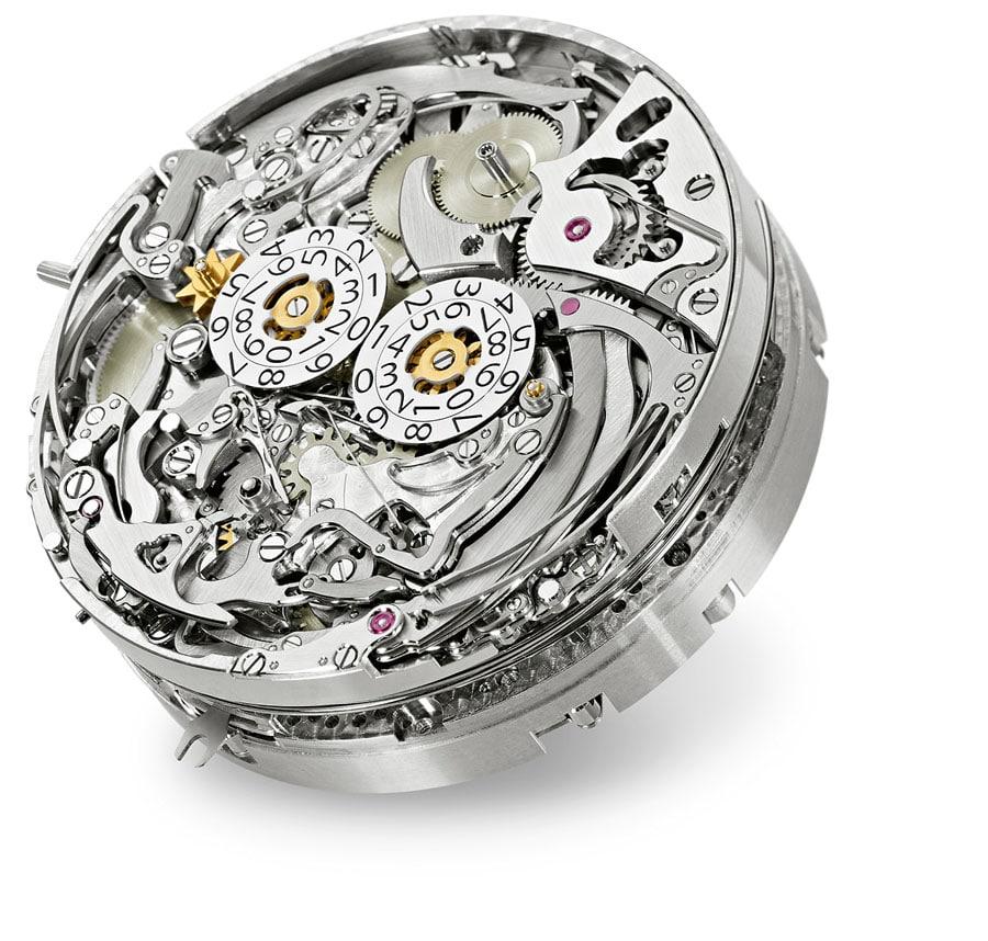 Das Uhrwerk der Patek Philippe Grandmaster Chime