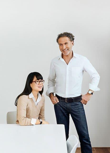 Werner Aisslinger und seine Partnerin Tina Bunyaprasit