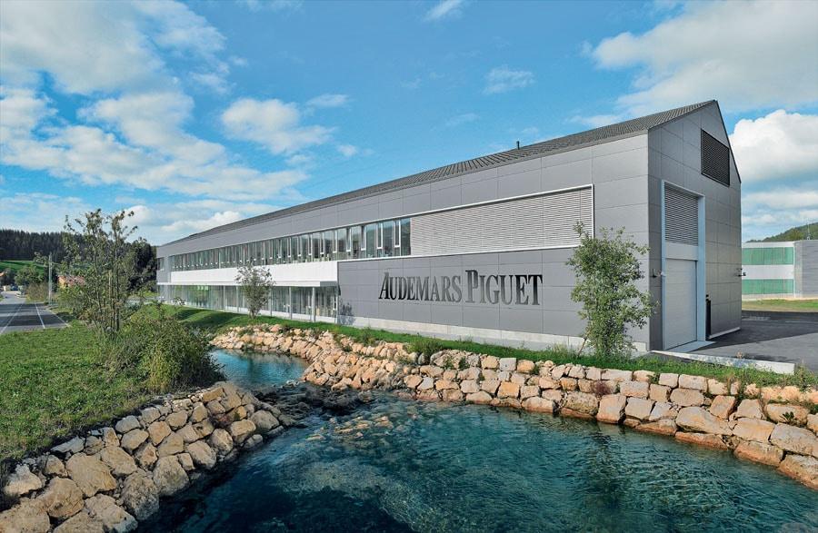 Hightech in der Idylle: Fabrik von Audemars Piguet in Le Brassus