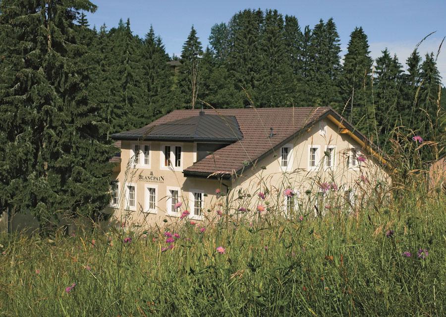 Blancpain: Die Manufaktur in Le Brassus befindet sich in einem alten Bauernhaus
